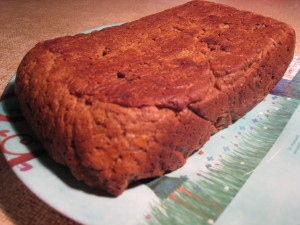 Sweet potato almond loaf